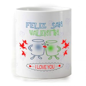 Taza para San Valentín - I love you